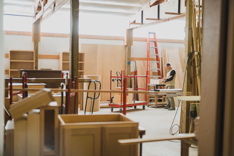 Handcrafted Cabinetmaking